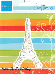 Eiffel Tower Craft Steel Die by Marianne Design Creatables Die CR1220 Travel New