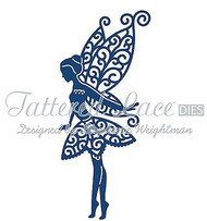 ELEGANT TATTERED LACE TINKS FAIRY Die Cutting Die Tattered Lace Die D324 New