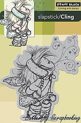 Fairy Stardust, Cling Style Unmounted Rubber Stamp PENNY BLACK - NEW, 40-180