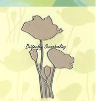 Field Of Dreams Flowers, Creative Steel Dies PENNY BLACK - NEW, 51-030