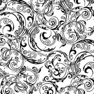 Flourish Cover A Card Background Unmounted Rubber Stamp Impression Obsession New