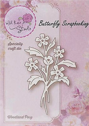 Flowers Woodland Posy Creative Steel Die Cutting Dies WILD ROSE STUDIO SD042 New