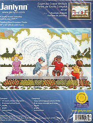 FOUNTAIN OF YOUTH Janlynn Craft Counted Cross Stitch Kit JCO 69311 NEW