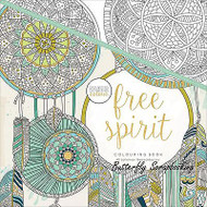 FREE SPIRIT Coloring Book For Markers & Watercolors & Pencils KAISERCRAFT New
