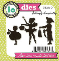 Halloween Kids American Made Steel Die by Impression Obsession DIE231-O New