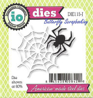 Halloween Spider Web Set American Steel Dies Impression Obsession DIE115-J New