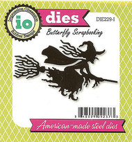 Halloween Witch American Made Steel Die by Impression Obsession DIE229-I New