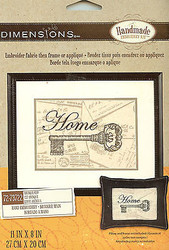 Home Antique Key Embroidery Kit by Dimensions 72-73722 NEW
