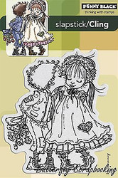 In Love RAGGED ROMEO Cling Style Unmounted Rubber Stamp PENNY BLACK 40-182 New