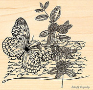 Kisses In The Sun, Wood Mounted Rubber Stamp PENNY BLACK - NEW, 4306L