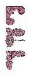 Lace Corners Dies Steel Die Cutting Dies CHEERY LYNN DESIGNS - NEW, B161