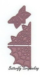 Lace Corners, Steel Cutting Dies CHEERY LYNN DESIGNS - NEW, B173