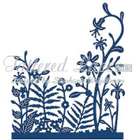 LACE FLOWERS PANORAMA GRASS DIE Craft Die Cutting Die Tattered Lace Die D663 New