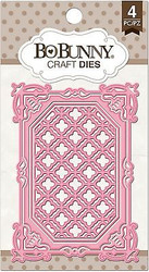 Lattice Frame Dies Craft Die Cutting Dies BoBunny Crafts Die 12839756 New