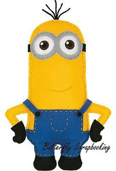 MINIONS KEVIN Felt Fun Sewing Embroidery Kit by Dimensions 72-74482 NEW