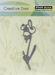 Modest Flower Creative Steel Die Cutting Die PENNY BLACK 51-037 NEW