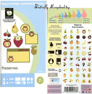 PRESERVES CRICUT CARTRIDGE Die Cutting Cartridge NEW