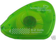 SCRAPBOOK ADHESIVES E Z Dots Runner Repositionable 3L