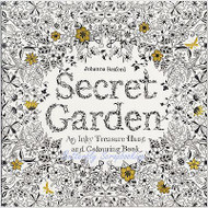 SECRET GARDEN Coloring Book For Markers & Watercolors & Pencils 96 Pages New