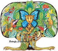 TREE OF LIFE Animal Spirit Cling Unmounted Rubber Stamp EARTH ART Sue Coccia New