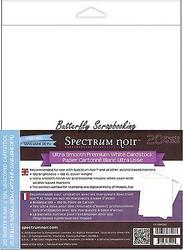 Ultra-smooth Premium White Cardstock, 20 Sheets Spectrum Noir - CC-USPC20