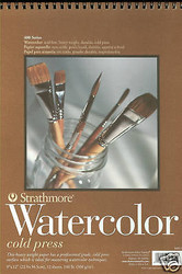 WATERCOLOR Artist Paper Cold Press Heavy Weight 9x12 Strathmore 400 Series New