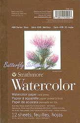 WATERCOLOR Cold Press Heavy Weight Paper Pad Strathmore
