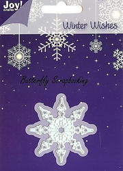 WINTER SNOWFLAKE Die Craft Steel Die Cutting Die by Joy! Crafts 6002/2018 New