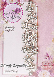 Winter Snowflakes Creative Steel Die Cutting Dies WILD ROSE STUDIO SD032 New