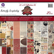 Allstar Sports Collection Scrapbooking Kit 12x12 in Paper Pad PRIMA 20 Sheet NEW