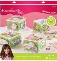 AMERICAN GIRL Party Treasure Boxes KIT EK Sucess New