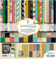 AS YOU WISH Collection Kit 12X12 Scrapbooking Kit Fancy Pants Designs 2200 New