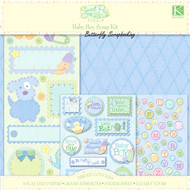 BABY BOY Sweet Pea Collection 12X12 Scrapbooking Kit K&Company NEW