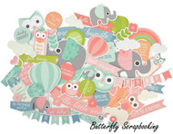 Baby Little One Collectables Collection Scrapbooking 50 Die Cuts Kaisercraft NEW