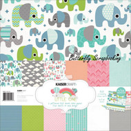 BABY Little One Collection Pack 12X12 Scrapbooking Kit Kaisercraft PK512 New