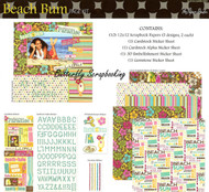 Beach Bum Summer Sun Travel 12X12 Scrapbooking Kit The Paper Studio Memories NEW