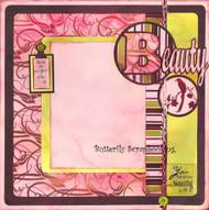 Beauty Beautiful You 12X12 Page Layout Scrapbooking Kit Limited Edtion New