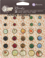 BELLA ROUGE Brads Collection Scrapbooking Brads PRIMA MARKETING INC 579296 NEW