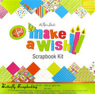 BIRTHDAY WISH 12X12 Scrapbooking Kit Paper Studio NEW