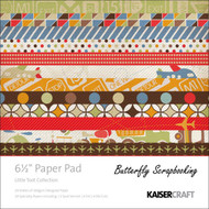Boy Little Toot Collection 6.5 inch Paper Pad Scrapbooking Kit Kaisercraft NEW