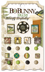 Brads Nature Trail Mix Collection Scrapbooking BRADS Pack BoBunny Bo Bunny NEW