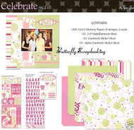 CELEBRATE PARTY 12X12 Scrapbooking Kit Paper Studio NEW