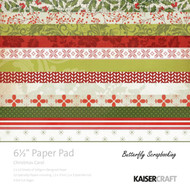 Christmas Carol Collection 6.5 inch Paper Pad Scrapbooking Kit Kaisercraft NEW