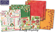 CHRISTMAS Holidays 12X12 Scrapbooking Kit Celebrate Christmas Karen Foster NEW