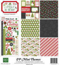 CHRISTMAS Jingle Collection Kit 12X12 Scrapbook Kit ECHO PARK PAPER SW5305 New