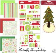 CHRISTMAS TREE 12X12 Scrapbooking Kit Doodle Bug Design NEW
