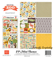 Day At The Zoo Collection 12''X12'' Scrapbook Kit ECHO PARK PAPER - NEW, SW4405