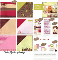 Daydreamer Dreams Come True 12X12 Scrapbooking Page Kit Deja Views 215 Piece NEW