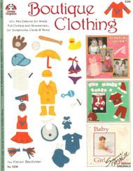Design Originals - Boutique Clothing! Idea & Instruction Book - NEW, #5250
