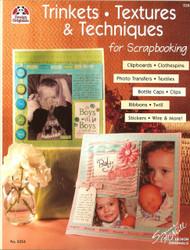 Design Originals - Textures & Techniques For Scrapbooking! Idea Book -NEW, #5254